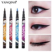 YANQINA 36H Schwarz Wasserdicht Flüssigen Eyeliner Make Up Schönheit Comestics Lange lasting Eye Liner Bleistift Make Up Werkzeuge für lidschatten