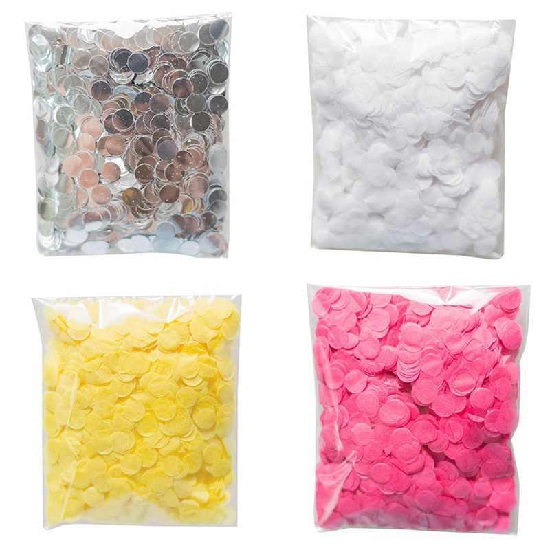 1 cm 10 g/saco Misturado Cores Metallic Rose Gold Mini Confete Rodada Dots Encher Balões Do Chuveiro de Bebê Decorações do Casamento Do Noivado