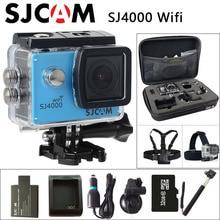 Оригинальный SJCAM SJ4000 Wi-Fi экшн-камеры 2.0 дюймов ЖК-экран 1080 P HD Дайвинг 30 м водонепроницаемый мини-видеокамеры SJ 4000 Cam Спорт DV