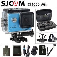 Original SJCAM SJ4000 WiFi Sport Action Camera Waterproof Camera Car Charger Holder Extra 1pcs Battery Battery