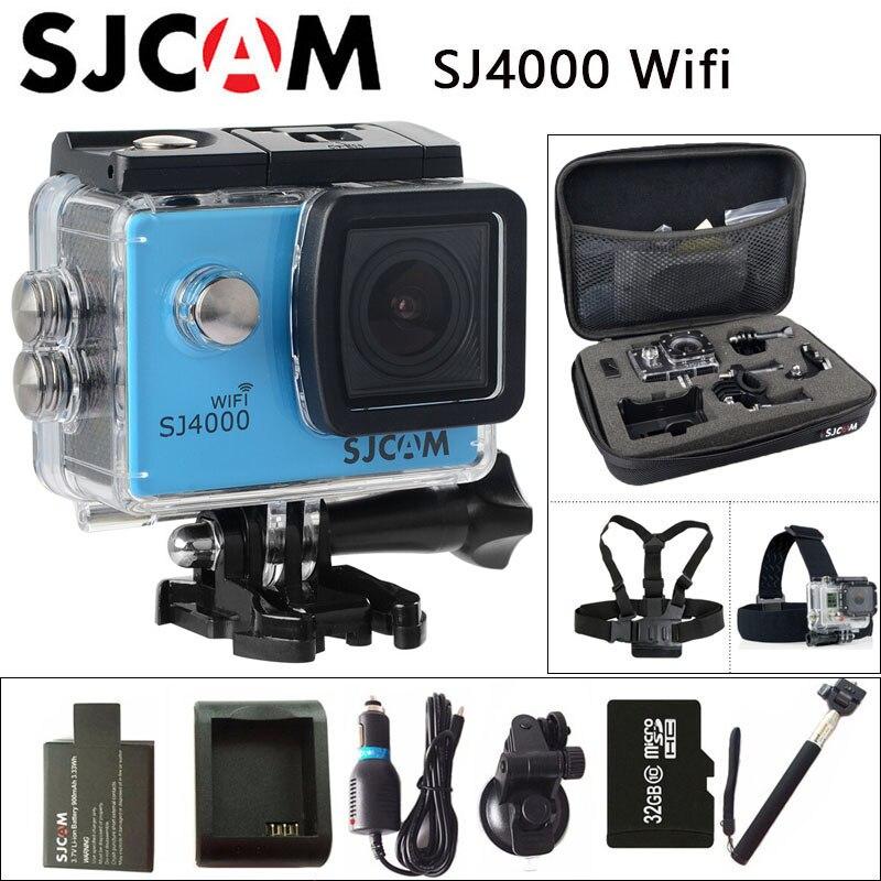 bilder für Ursprüngliche SJCAM SJ4000 WiFi Action Kamera 2,0 zoll Sport DV LCD bildschirm 1080 P HD Tauchen 30 Mt Wasserdichte mini Camcorder SJ 4000 Cam