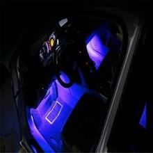 цена Car Styling  LED Strip Light  decorative for Hyundai Solaris IX25 IX35 Tucson Sonata Elantra MISTRA Santafe VERNA ROHENS-Coupe V в интернет-магазинах