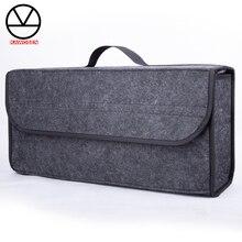 KAWOSEN портативный складной органайзер для багажника автомобиля, войлочная ткань, чехол для хранения, контейнер для авто интерьера, сумки CTOB04