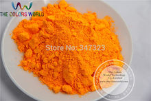 TCFG-612 Orange neon Colors Fluorescent Neon Pigment Powder for Nail Polish&Painting&Printing 1 lot= 50g(China)