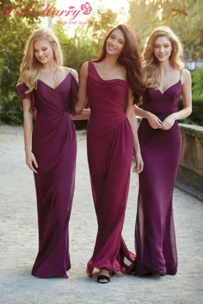 cranberry bridesmaid dresses - Gowns and Dress Ideas