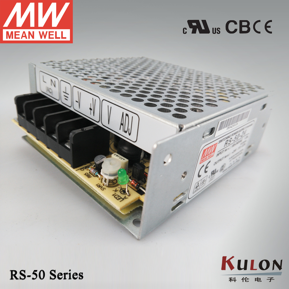 все цены на Meanwell RS-50-15 50W 15V 3.4A Power Supply 3 years warranty CB UL CE approved онлайн