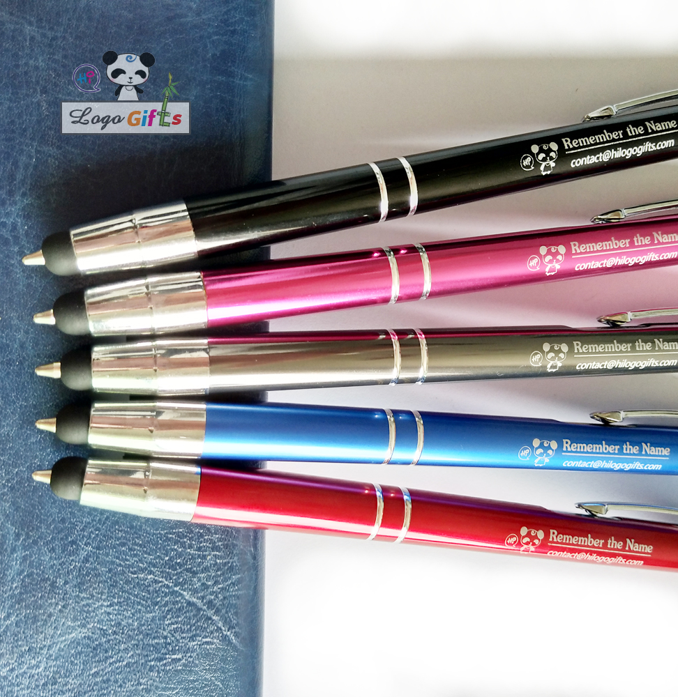 Wholesale stylus pencils top stylus screen touch ballpoint pen personalzied free with your name logo email