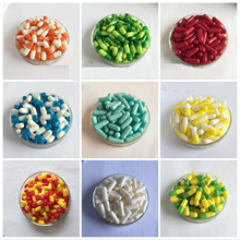 0# 1000/5000pcs 0 size High quality colored hard gelatine empty capsules, hollow gelatin capsules ,joined or separated capsules