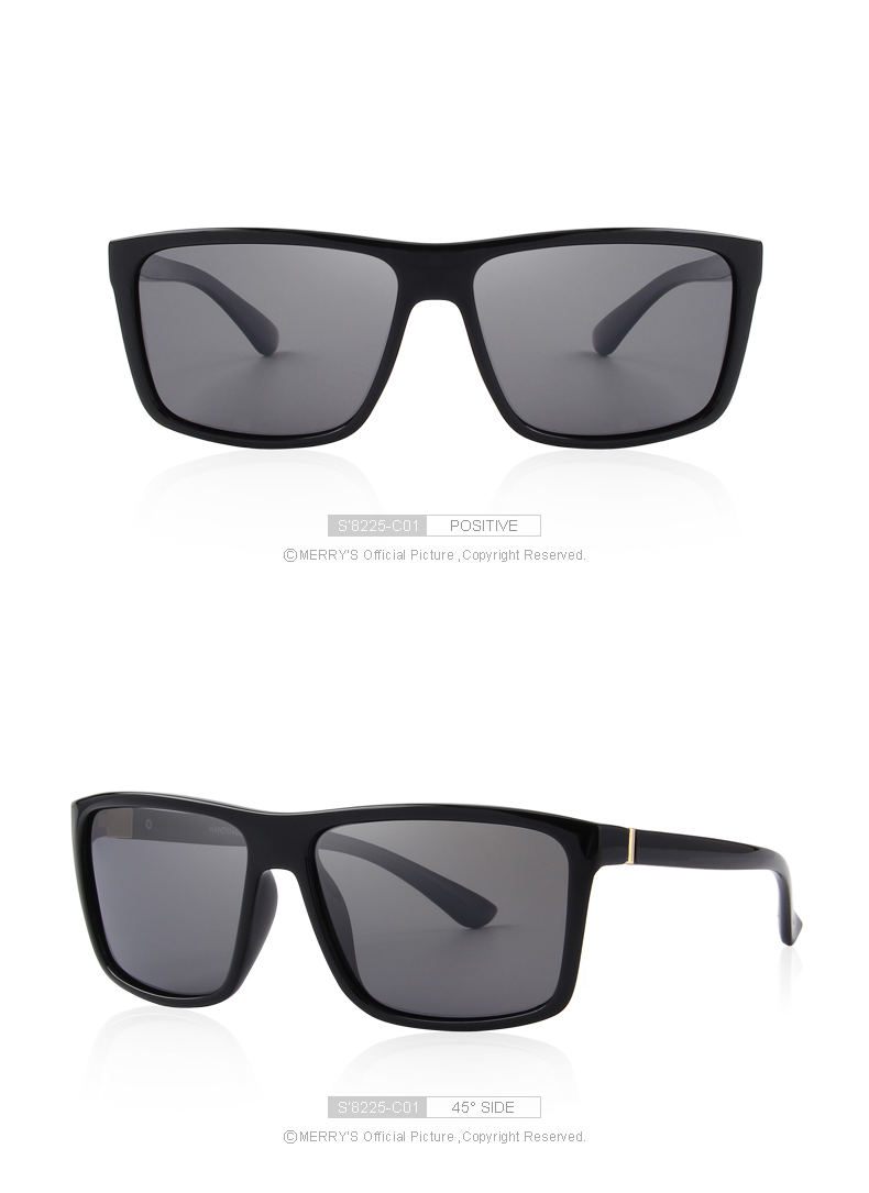07dc9922b709a MERRY S DESIGN Men Polarized Sunglasses Fashion Male Eyewear 100% UV  Protection Sunnies Gafas Oculos De Sol