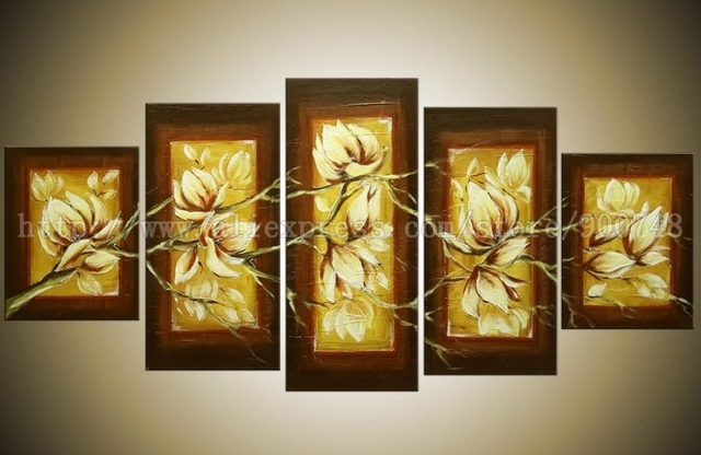 Handmade Oil Paintings 100 Hand Painted For Living Room Background Asian Canvas Wall Painting Art