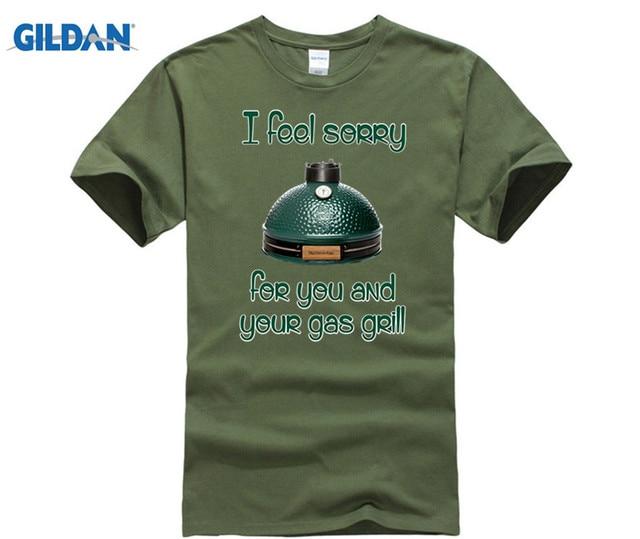 GILDAN Big Green Egg T-Shirt the best of Big Green Egg accessories Hot men's T-shirt 1