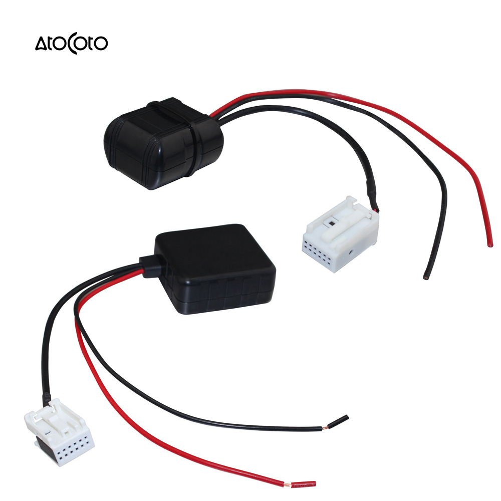 Bluetooth Module with Filter RCA Adapter Car Radio Stereo Wireless ...