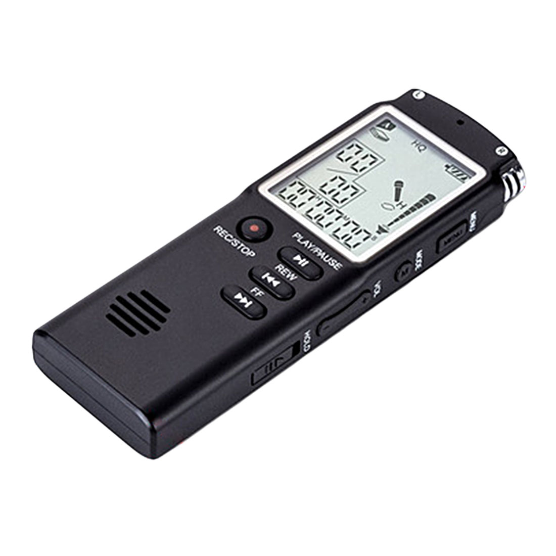 Marsnaska Newest 8GB Voice Recorder USB Professional 96 Hours Dictaphone Digital Audio Voice Recorder With for WAV,MP3 Player ...