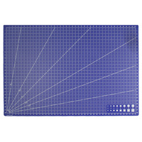 A3 PVC Rectangle Grid Lines Cutting Mat Tool Plastic Craft DIY Tools 45cm 30cm