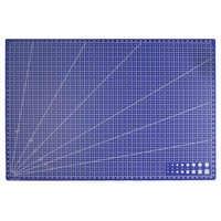 A3 PVC Rectangle Grid Lines Cutting Mat Tool Plastic Craft DIY tools 45cm * 30cm
