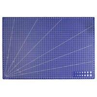 A3 PVC líneas de cuadrícula rectangulares herramienta de corte para manualidades de plástico herramientas de bricolaje 45cm * 30cm
