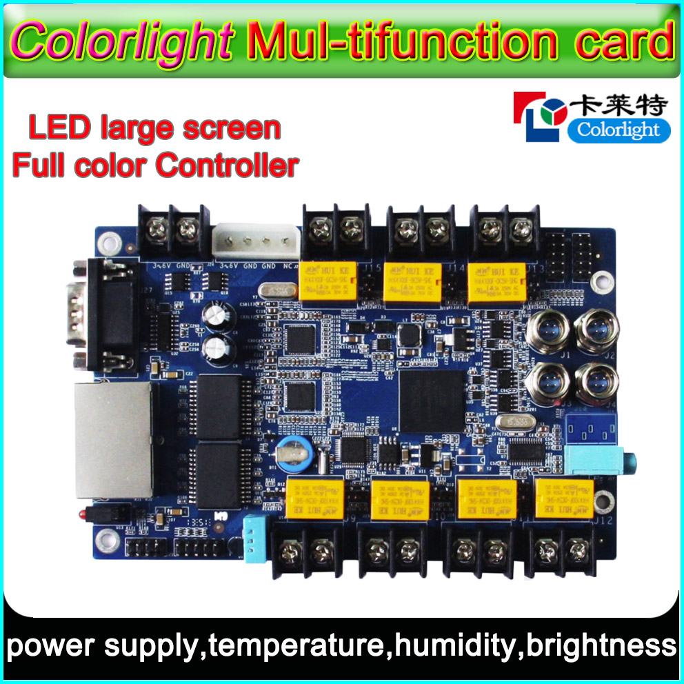 iM9 Colorlight Multi-function card,<font><b>RGB</b></font> Full-color <font><b>LED</b></font> display <font><b>control</b></font> system,P3/p4/p5/p6/p7.62/<font><b>p10</b></font>/p16 <font><b>led</b></font> <font><b>module</b></font> <font><b>control</b></font> card image