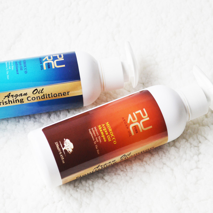 PURC 250ml Maghribi Argan Oil Minyak berkhasiat Syampu dan rambut - Penjagaan rambut dan penggayaan - Foto 2