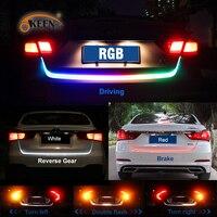 OKEEN Car Styling 12V RGB LED Truck Strip Light Bar Tailgate Light Rear Turn Signal Light
