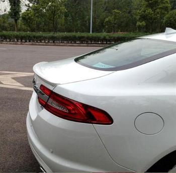 JINGHANG ABS Primer alerón trasero maletero de coche labio arranque automático ala spoilers para Jaguar XF 2012, 2013, 2014, 2015