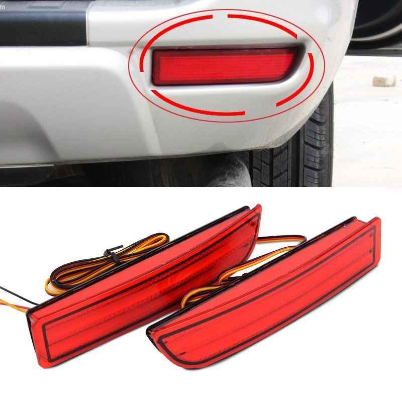 XYIVYG For Toyota Alphard Avensis Previa RAV4 2008-2014 Rear Bumper Reflector Tail Brake Fog Lights 08-12 For Scion xD