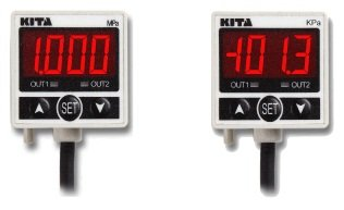 KITA High Precision Digital Pressure Switch KP25V-02-F1 -0.1~0MPa 12-24VDC