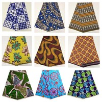 wholesale 100% polyester fabric not cotton fabric african nigerian ankara fabric textile gold glitter african wax prints fabric