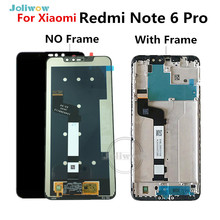 цены на For Xiaomi Redmi Note 6 Pro Global LCD Display Screen Touch  Digitizer Assembly Replacement For Redmi Note 6 Pro LCD  в интернет-магазинах