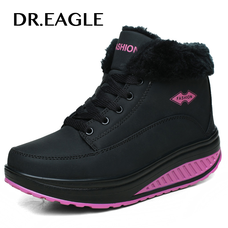 DR.EAGLE Sport-Shoes Fitness Toning Slimming Women Winter for Female Body-Shaping High-Ankle