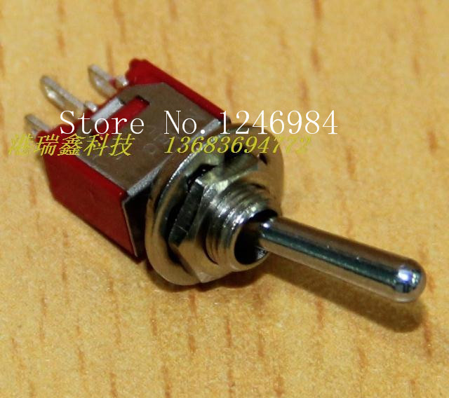 [SA]TS-4 single tripod two tranches M5.08 small toggle switch , shaking his head aside the rocker switch } { overstock--100PCS/L toggle switch the switch s 422t