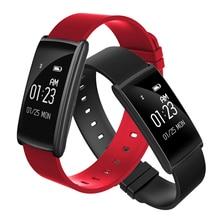N108 Умные браслеты Bluetooth работа напомнить с Приборы для измерения артериального давления крови кислородом Фитнес сердечного ритма Мониторы браслет для IOS Android