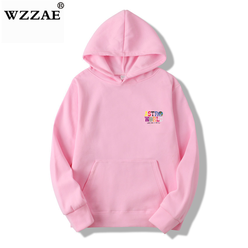 Fashion Letter ASTROWORLD HOODIE street wear Man woman Pullover Sweatshirt 30