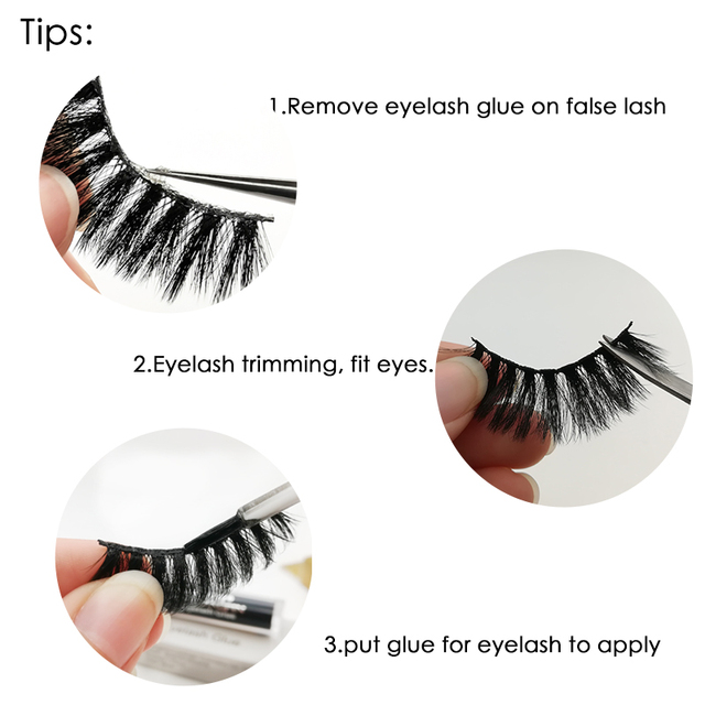 SHIDISHANGPIN 5 Pairs Eyelashes Natural Mink Eyelashes Fluffy 3d Mink Lashes Thick False Lashes Makeup Fake Eyelashes cilios 3