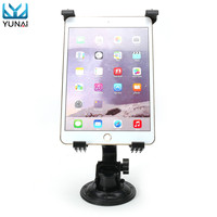 YUNAI 360 Car Windshield Desk Holder Suction Cup Mount Stand For IPad Tablet PC Protable Tablet