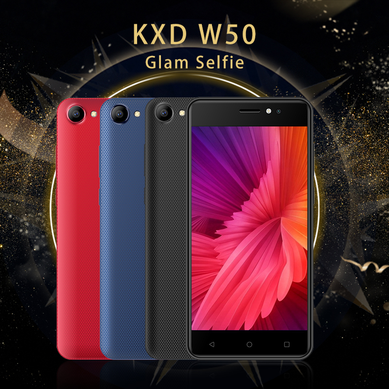 W50 5.6 Inch HD Super Large Screen 1+8G Quad Core Super High Performance Cost Ratio Smart 3 Mobile Phone