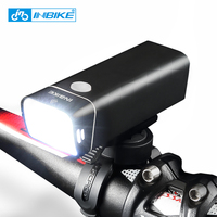 INBIKE USB Rechargeable Bike Light Front Handlebar Cycling Led Lamp Battery Flashlight Torch Headlight Bicycle Accessories