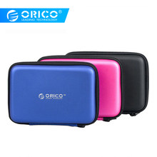 "ORICO PHB-25 2.5"" 2.5 Inch Protection Bag for External Portable HDD Box Case-Blue/Black/Pink(China)"