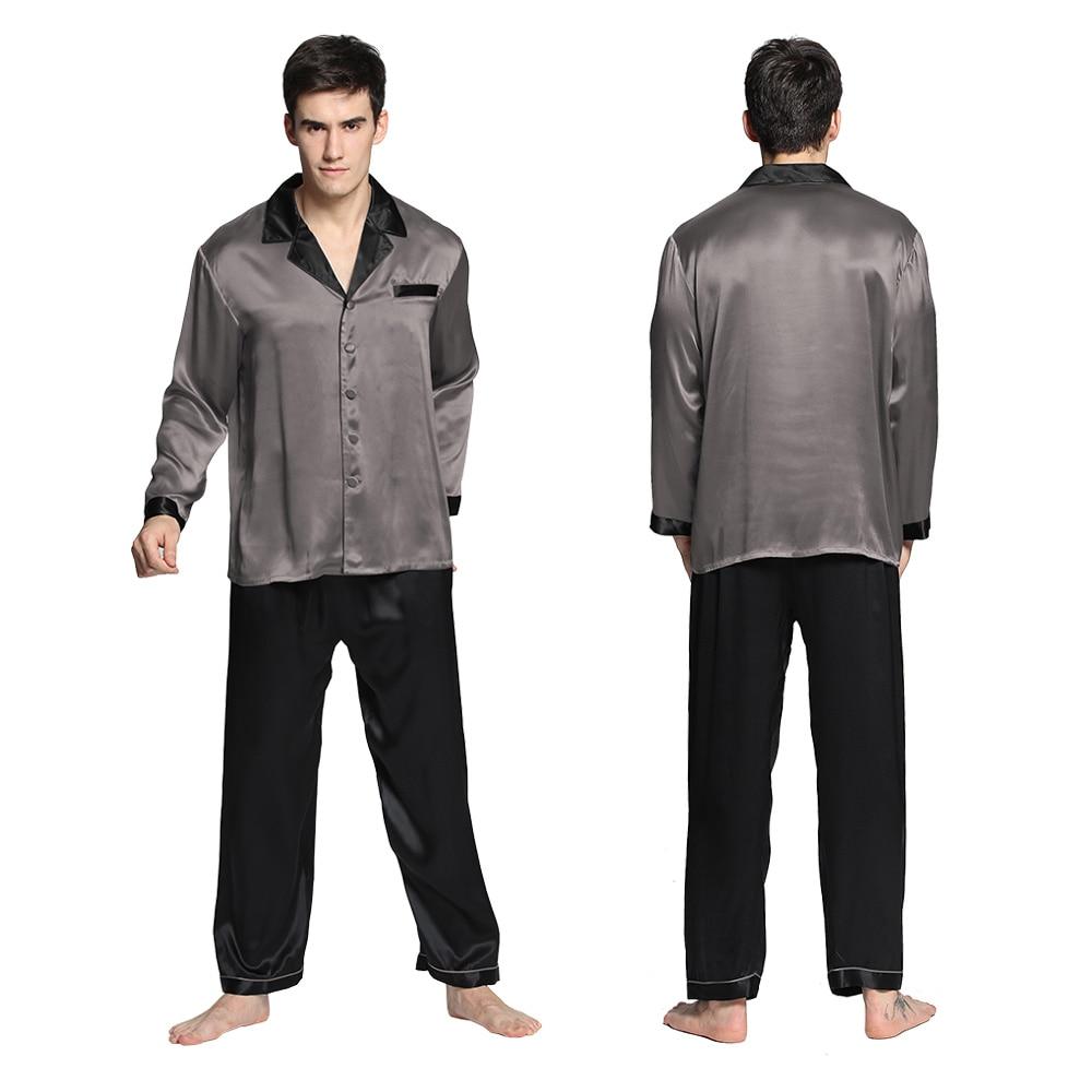 b617060c0a765 Купить lilysilk пижама мужская шелковая домашняя одежда для мужчин ...