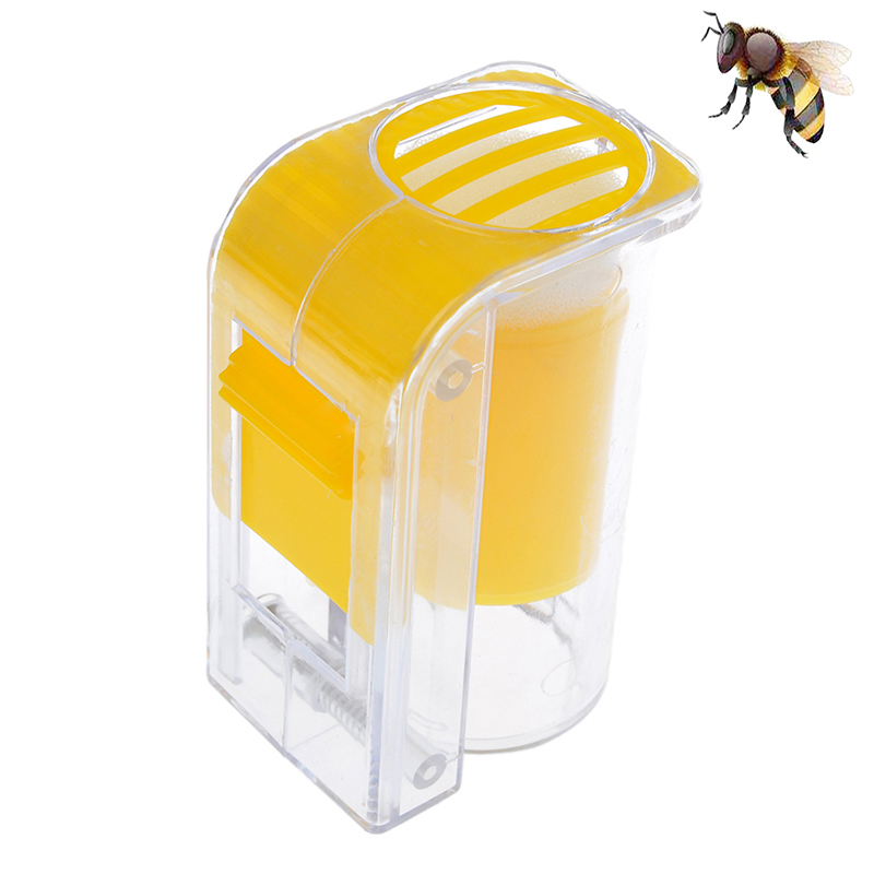 Plastic One Handed Marker Bottle Plunger Plush Beekeeper Queen Bee Catcher