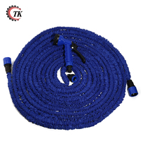 75FT Expandable Magic Flexible Garden Hose Water Hose For Car Plastic Hoses Pipe With Spray Gun To Watering