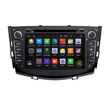ROM 16G 1024*600 Quad Core Android 5.1.1 Fit LIFAN X60, SUV 2011 2012 2013 2014 2015 Car DVD Player Navigation GPS TV 3G Radio