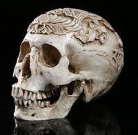High precision carved skull high end resin skull handicrafts home Decoration Skull Halloween