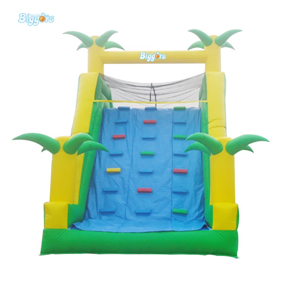 palmera de seguridad escalada escalera tobogn inflable con piscina tobogn inflable para nios y adultos