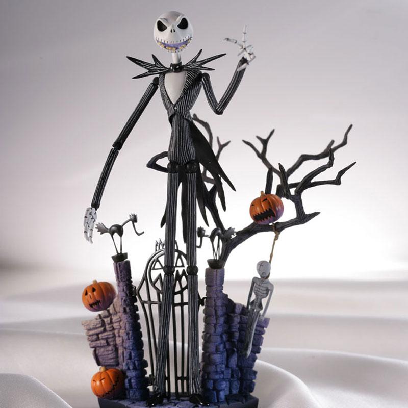 ФОТО Christmas Eve Jack Skellington  Action Figure Toy Animation Child Gift