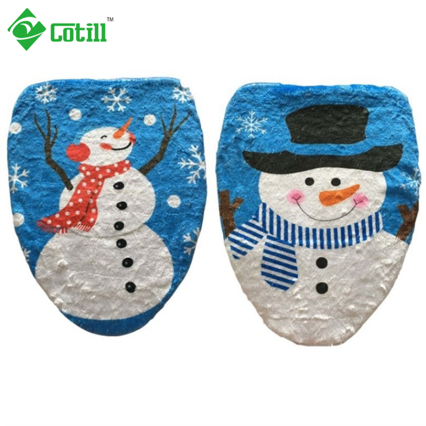 Christmas decorations for home red hat chair covers for Christmas decorations home bargains