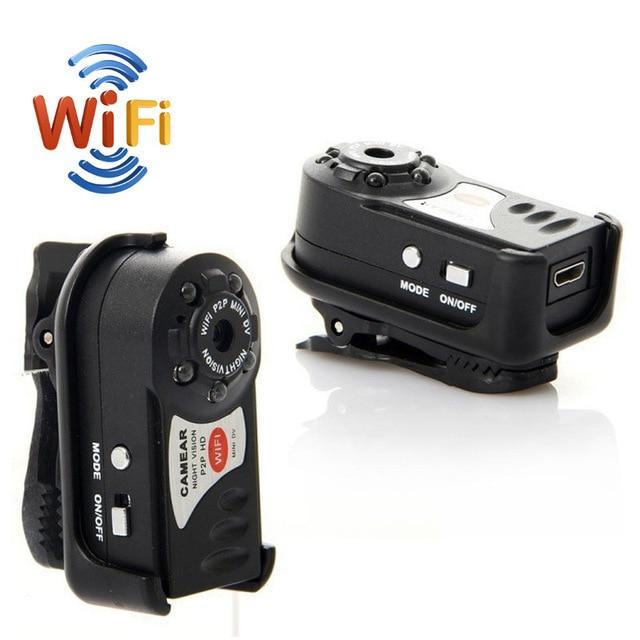 WiFi Q7 camera Mini DV Wireless IP Camera font b camcorder b font Video Record pocket