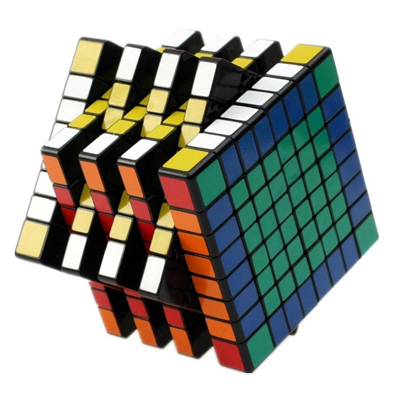 8x8x8 المهنية المكعب السحري مباراة عالية السرعة السلس مكعب التعلم التعليم لعب الاطفال الأطفال هدايا طول 8.3 سنتيمتر-في مكعبات سحرية من الألعاب والهوايات على  مجموعة 1