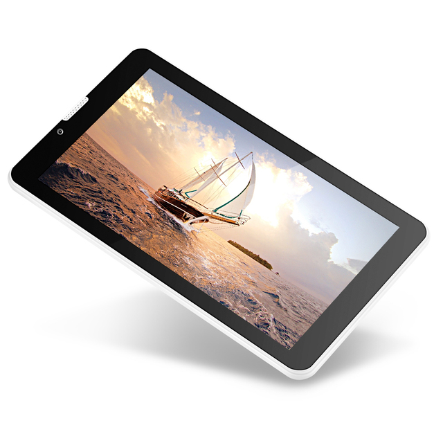Yuntab 7 ''E706 Yuntab Tableta GPS de Doble Tarjeta SIM Mini 1.2 GHz Quad Core de La Corteza A7 IPS de Doble Cámara de 1 GB + 8 GB Del Teléfono Tableta de la Llamada PC