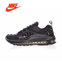NIKE MAX 98 strong Boutique Mens Running Shoes Sneakers Outdoor Walking Comfortable Sneakers men shoes men Fast Original