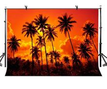 150x210cm Sunset Backdrop Fire Burning Cloud Forest Photography Background for Camera Photo Props